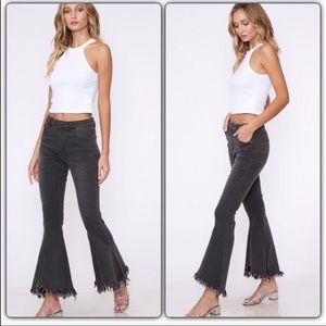 Charcoal Ultra Flair Jeans
